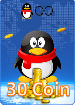 QQ Coin Card 30 Coin