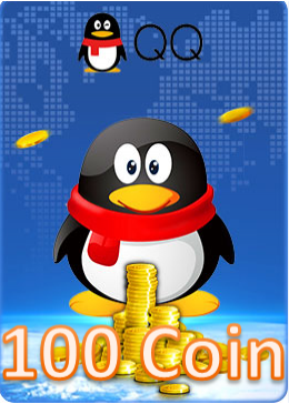 QQ Coin Card 100 Coin