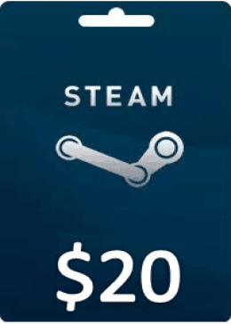 Steam Gift Card Wallet Code (US)20 USD