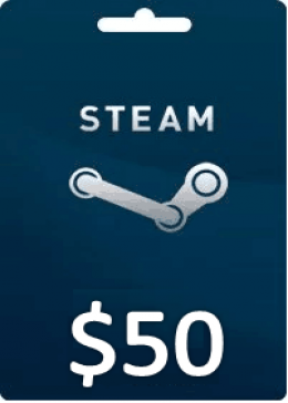 Steam Gift Card Wallet Code (US)50 USD