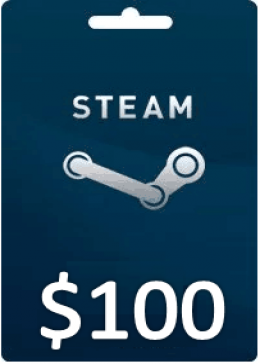 Steam Gift Card Wallet Code (US)100 USD