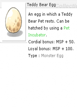 Teffy Bear Egg *10