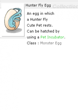 Hunter Fly Egg *20