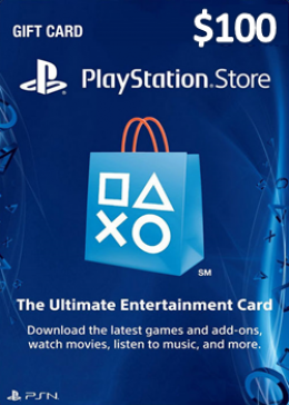 Play Station Network 100 USD  Card