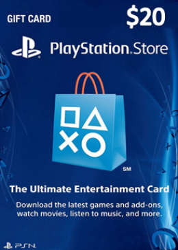 Play Station Network 20 USD  Card