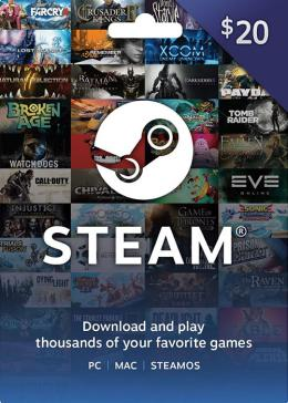 ArcheAge: Unchained STEAM Rechearge 20 USD